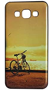 Vcare Shoppe Designer Printed Back case cover for Samsung Galaxy E5 - BICYCLE