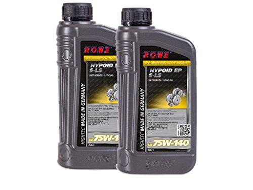 2(2X 1) litri Rowe HighTec hypoid EP SAE 75W 140S LS