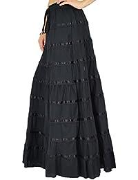 Phagun Wear Jupe Longue Jupe Longue Cotton Wear Vêtements
