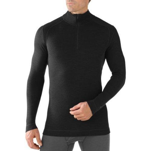 Smartwool Nts 250 Sous-vêtement thermique 1/2 zip Homme - Noir (Black) - Taille : XL