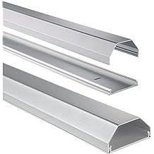 Hama Aluminium Cable Duct, silver - Kit de sujección (silver)
