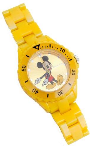 Mickey Mouse 25757 - Reloj analógico unisex de cuarzo con correa de plástico multicolor