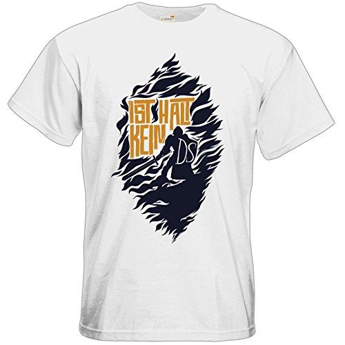 getshirts - Rocket Beans TV Official Merchandising - T-Shirt - Ist halt kein DS White