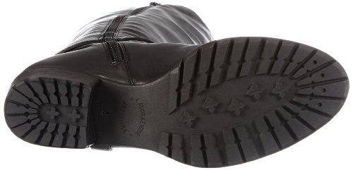 Kennel und Schmenger Schuhmanufaktur Mao Damen Langschaft Stiefel Schwarz (Schwarz)