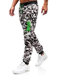 BOLF Pantaloni – Di tuta – Sportivi – Jogger – Stampa - Mimetici – Da uomo 12b73d6767a4