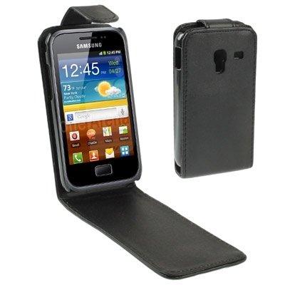 Ruanyi Custodia in cuoio di vibrazione verticale per Samsung Galaxy Ace/Plus/S7500