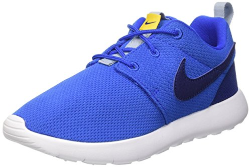 Nike Roshe One (Ps) Scarpe da ginnastica, Bambini e ragazzi, Hypr Cblt/Dp Ryl Bl-Vrsty Mz-B, 28 1/2
