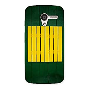 Green Squares Yello Back Case Cover for Moto X
