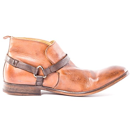 H By Hudson Hague Hommes Ankle Boots Tan