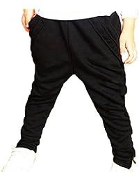 Finejo Children Casual Spring Autumn Cotton Pants Feet Trousers Boys Girls Kid Sport Pants