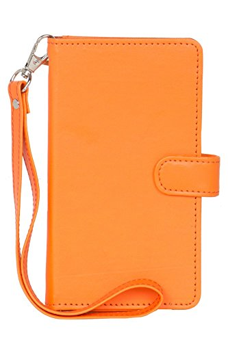 Panasonic T31 - Handmade Flip Wallet Leather Pouch Cover Comfortable & Stylish (Be Unique Buy Unique) Buy it Now By Senzoni  available at amazon for Rs.279