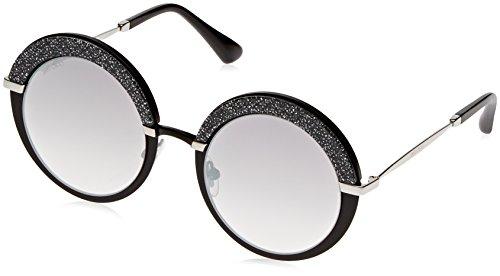 Jimmy Choo Damen Gotha/S FU IXA Sonnenbrille, Schwarz (Mtblackpalla/Gry Sf SLV Grey Speckled), 50