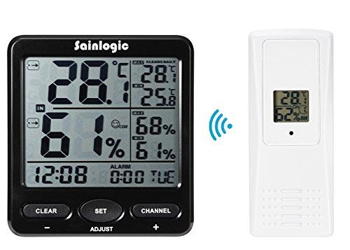 sainlogic-r-drahtlose-wetterstation-thermometer-fur-innen-und-aussentemperatur-mit-wecker-und-kalend