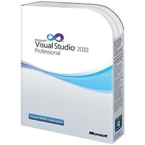 Microsoft Visual Studio 2010 Professional with MSDN Essentials, Upgrade Edition (PC)