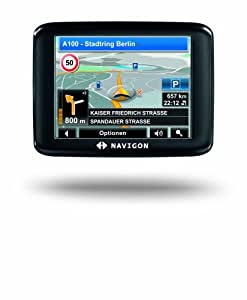 """Navigon 1310 ViaMichelin GPS Europe 40 pays Ecran Tactile 3,5"""" Radars Carte MicroSD Logiciel MobileNavigator 7 64 Mo"""