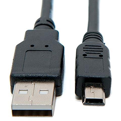 Keple Mini USB-Kabel Stecker Datenkabel fur Canon PowerShot SX Series: PowerShot SX120 IS Digitalkameras (UC-E4)
