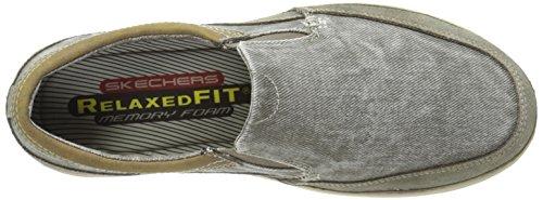 Skechers Usa Landen Steller Slip-on Mocassins gray