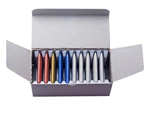 1 Karton Schneiderkreide (10 Stück) in verschiedenen Farben