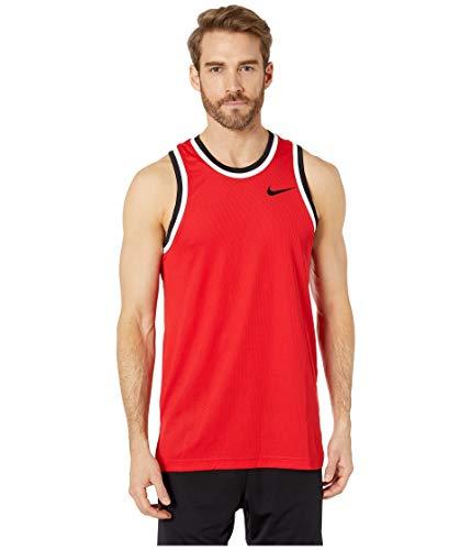 Nike Herren M NK DRY CLASSIC JERSEY Tank Top, Rot (University Red/Black), L - Herren Jersey Tank