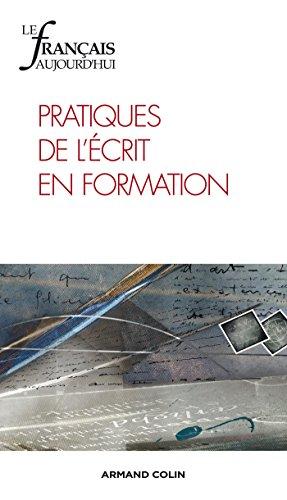 Le français aujourd'hui nº 184 (1/2014) Pratiques de l'écrit en formation par Collectif