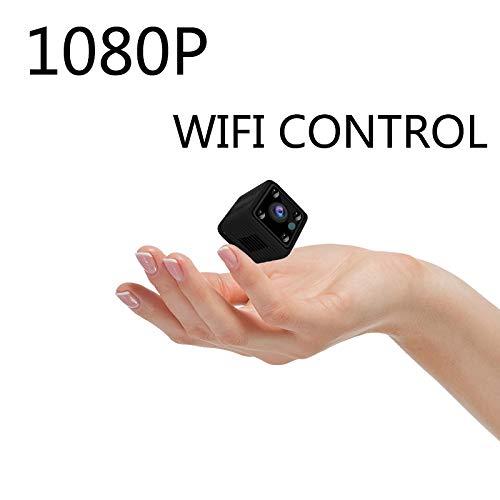 OUYAWEI Kleine Mini-WiFi-Kamera IP Wireless 1080P HD P2P Video CCTV Kindermädchen Body Cam Home Security Weltanblick-Monitor