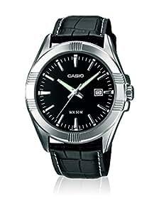 Casio Collection – Herren-Armbanduhr mit Analog-Display und Echtlederarmband – MTP-1308PL-1AVEF