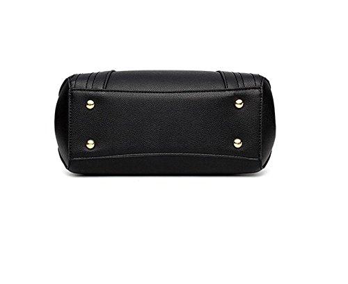 Marea Pacchetto Borse Borsa Tracolla Messenger Bag Ms. Bag Da Polso Sacchetto Di Svago Borse Da Viaggio Black