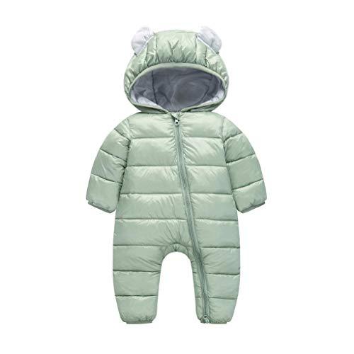 0054a84d6cbc39 VICGREY Piumino Bambino Invernale Tute da Neve Neonato Hooded Pagliaccetti,  Pagliaccetto del Bambino Inverno Giubbotto