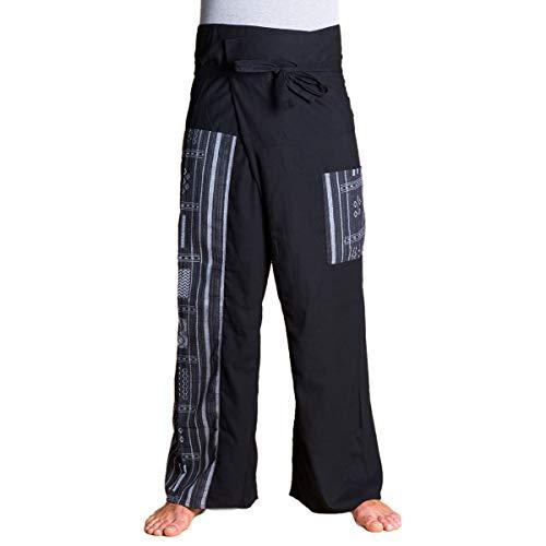 PANASIAM Fisherman Pants Beam, Black -