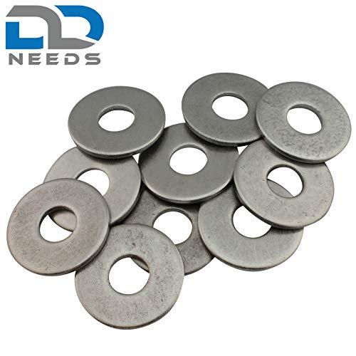 Blu Grandi rondelle DIN 9021,/acciaio Inox A2