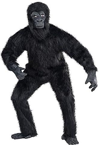Gorilla Costumes Masque - Amscan - 840924-55 - Déguisement De Gorille