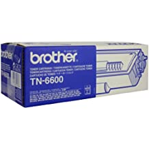 Brother TN6600 - Tóner negro (duración estimada: 6.000 páginas A4 al 5% de cobertura)