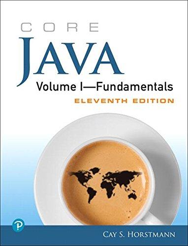 Core Java Volume I--Fundamentals - Java-programmierung Tutorial