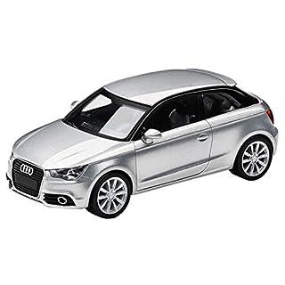 Audi 5011001012 Original A1 01:87 Miniature, Ice Silver