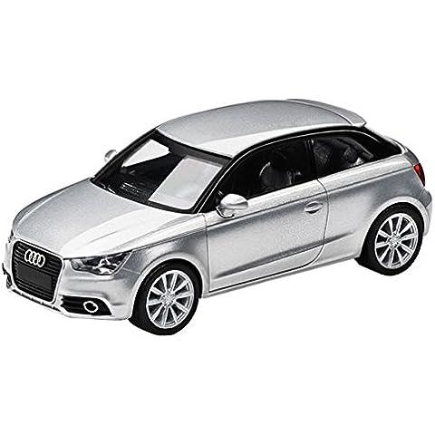 Audi 5011001012 Miniatura A1, 01:87, Gelato Argento