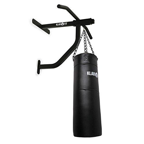 Klarfit Klimmzugstange mit Boxsack Kampfsport für Heimtraining & Dojo <350kg inkl. Montagematerial