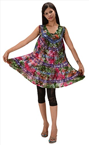 Skirts & Scarves Block Print Sleeveless Top/Blouse for Women