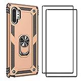 FANFO Coque + [2 Pack] Verre trempé Écran Protecteur pour Samsung Galaxy Note 10...