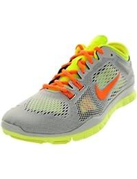 Nike - Zapatillas de deporte para mujer - black red violet-atomic orange 36.5