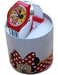 Reloj niño Disney Minnie Mickey Mouse Donald Dingo Plus cartera