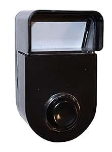 Tibelec 941330 Bouton pour Sonnette/Carillon filaire avec Visière de protection