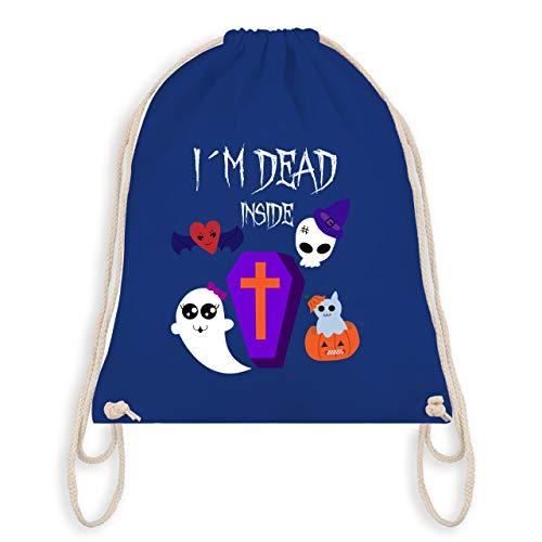 Halloween - I'm dead inside - Unisize - Royalblau - WM110 - Turnbeutel & Gym Bag