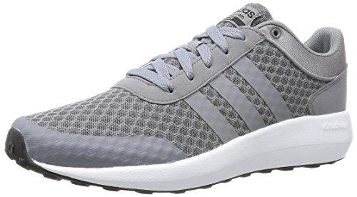 adidas - CLOUDFOAM RACE, Scarpe fitness Uomo grey-grey-core black