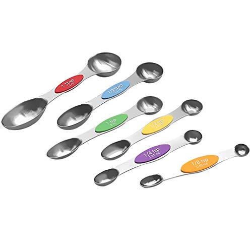 Las cucharas de medición magnéticas Superiores del Acero Inoxidable de Beisoug fijaron...
