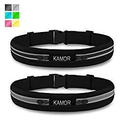 Kamor running belt is perfect for all forms of exercise and for men&women(damen)&ladies&kids. Product Features: - Superior Material - Made from Spandex with a bounce-free design to eliminate movement. - Light in weight & ...