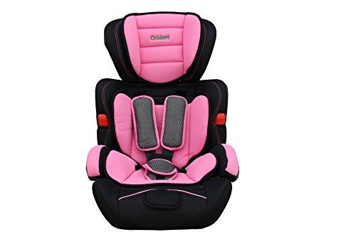Kindersitz Autokindersitz 9-36 Kg ECE 44-04 geprüft EU-Norm-Pink