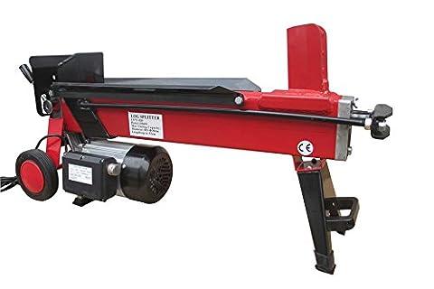 Varan Motors NEELS-04 Elektrischer Holzspalter 2900W 230V, Druck 7 Tonnen, Holzscheit bis 52cm
