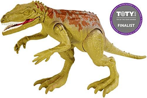 Jurassic World Velociraptor Blue, Toy Dinosaur, (Mattel FNB33)