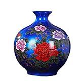 Vasen FJH Keramikvase Crystal Glasur Moderne Blumenanordnung Porzellan Flasche Handwerk Heimtextilien (Farbe : Style Two)