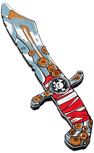 Liontouch 22801 Pirate Knife, Pirate Red Stripe / Piratenmesser, Red Stripe